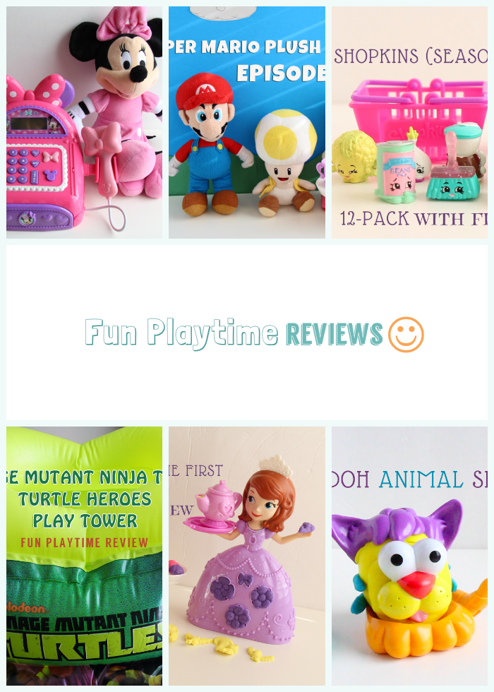 Check out these fun toy episodes! Your kids will enjoy them! From Play-doh to Minnie Mouse to Super Mario Bros., they're all here!