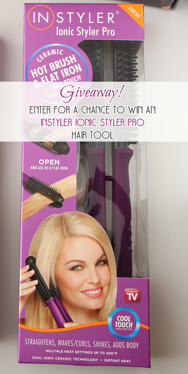 Giveaway: Enter for a chance to win an InStyler Ionic Styler Pro Hair Tool!