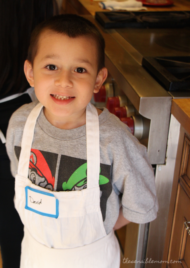 At The Chopping Block Kids in the Kitchen Class