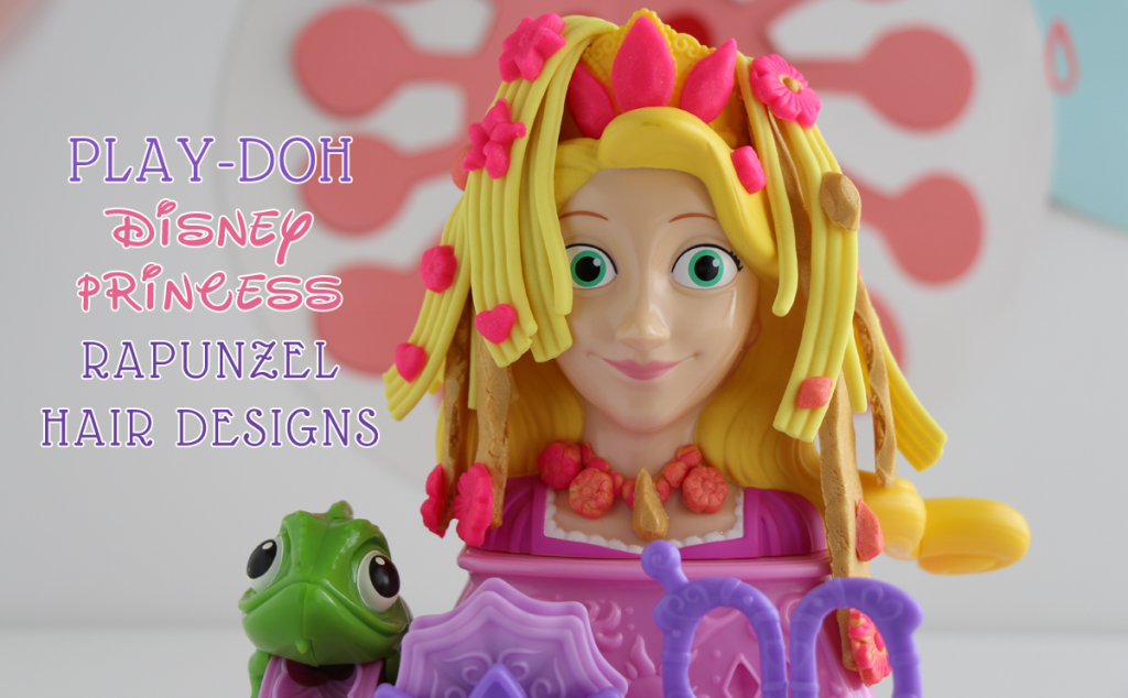 This is a great gift idea or a good idea for everyday Play-Doh fun! Check out this cute video of the Disney Princess Rapunzel Hair Designs Playset!