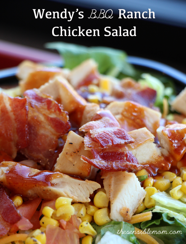 BBQ Ranch Chicken Salad #BeyondTheBowl