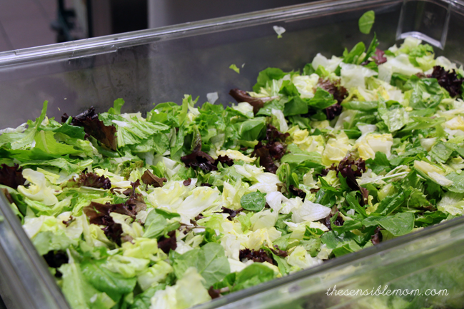 Wendy's Salads are made with fresh produce that is prepped in-house every single day.
