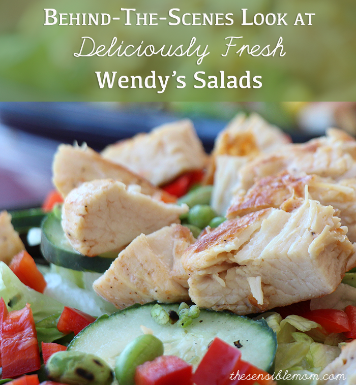 Behind-The-Scenes Look at Deliciously Fresh Wendy's Salads #BeyondTheBowl