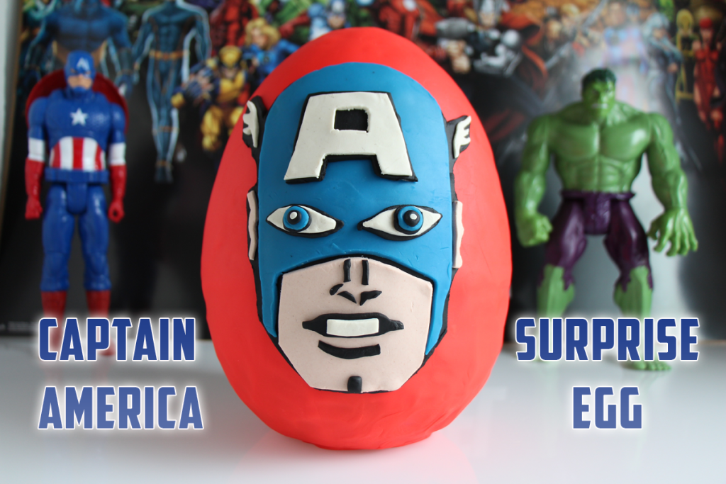 Need gift ideas or just a fun video for your kids to watch? Check out our Captain America Play Doh Surprise Egg Video! #avengers #avengersageofultron #playdoh #surpriseegg