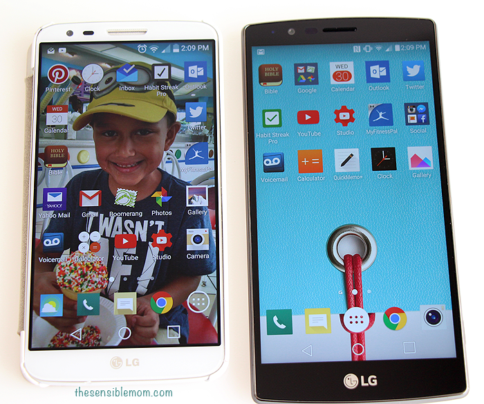 A comparison of the LG G2 smartphone and the LG G4 Smartphone #tech #technology #SprintMom