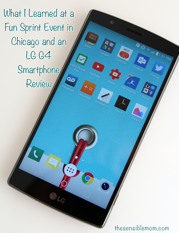 What I Learned at a Fun Sprint Event in Chicago and an LG G4 Smartphone Review #tech #technology