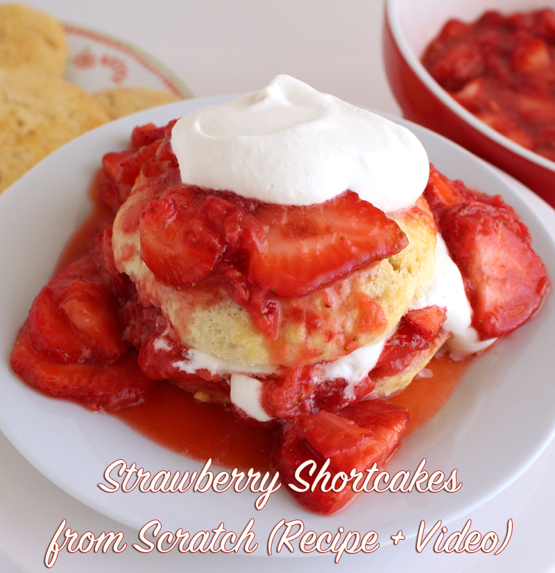 I'm sharing 3 Mother's Day Gift Ideas for Moms Who Love the Kitchen PLUS How to Make Delicious Strawberry Shortcakes from Scratch #strawberry #shortcake #dessert #howto #mothersday #gifts #ideas