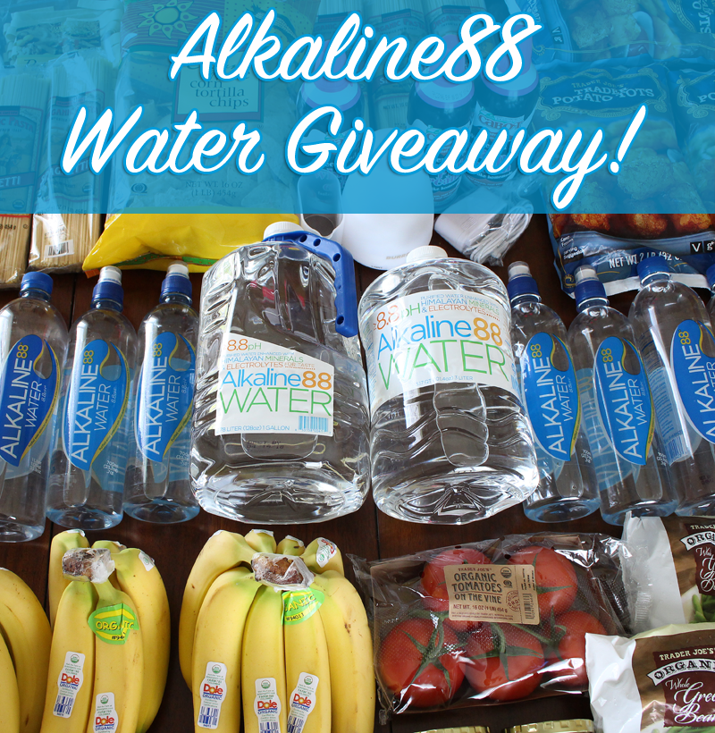 Enter for a chance to win $25 Worth of Alkaline88 Water #giveaway (Ends 5/12/16) #water