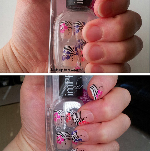 Beauty Review: imPRESS Press-On Manicure by Broadway Nails - For Moms