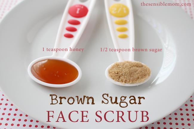Homemade Sugar Scrub Brown Sugar Face Scrub
