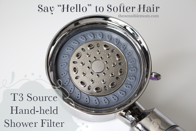 Softer Hair And Skin With The T3 Source Hand Held Shower Filter