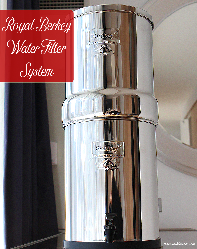 The Royal Berkey Water Filter System